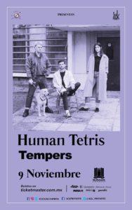 Human Tetris/Tempers @ El Plaza