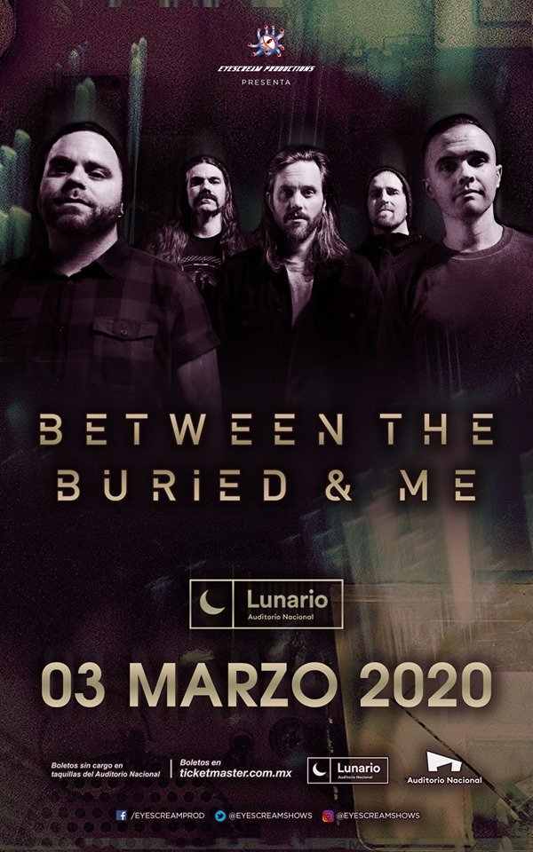 Between The Buried And Me @ Lunario