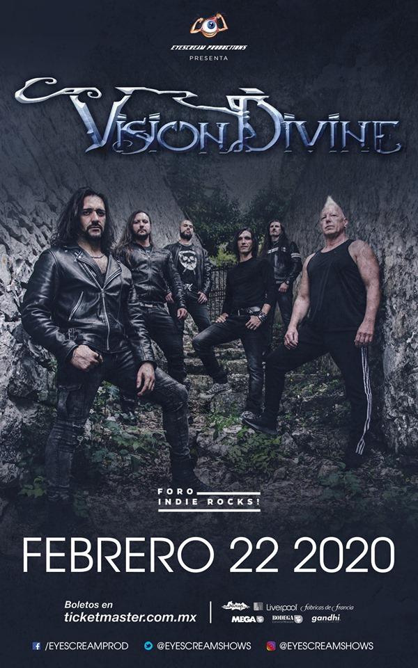 Vision Divine @ Indie Rocks!