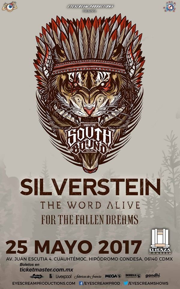 Silverstein/The World Alive/For The Fallen Dreams