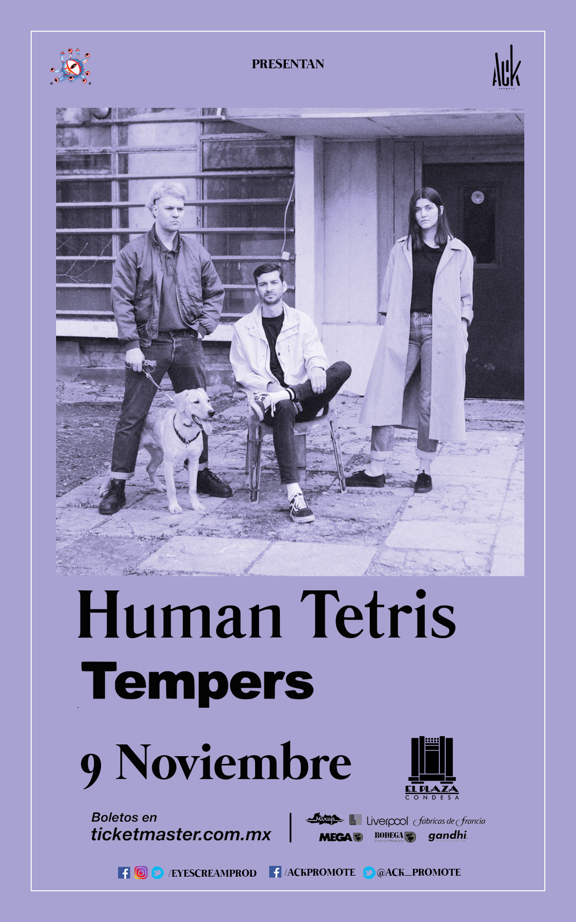 Human Tetris/Tempers